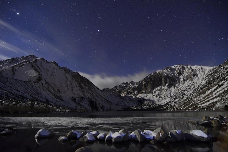 Moon Light on Covict Lake