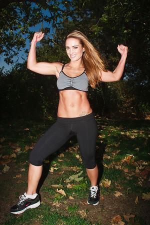 Fitness Model Photography Portfolio