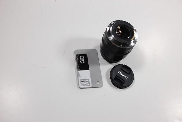 50mm lens vignetting