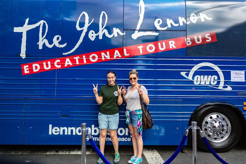2018_09_15, Bus, Exterior, New York, NY, Viva La Comida, OWC
