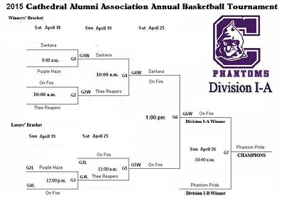 2015 CATHEDRAL ALUMNI ASSOCIATION ANNUAL BASKETBALL TOURNAMENT • 04.26.15