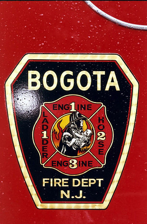 Bogota Fire Dept. Triple Wetdown 6-14-08