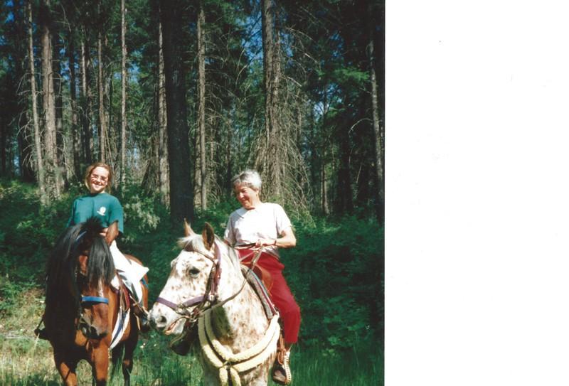 Devon and Granny riding.jpeg