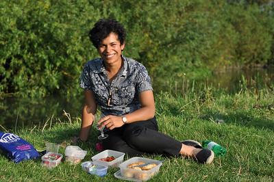 Piknik med Maya