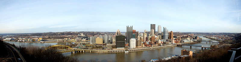 Pittsburgh Panorama January 2010