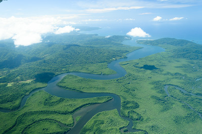 Rio Sierpe en route to Puerto Jimenez