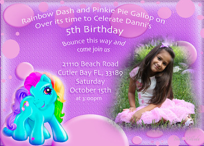 Announcements and party invite