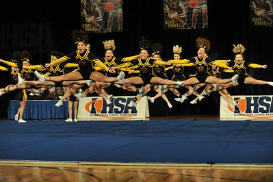 02-07-09 IHSA Competitive Cheerleading