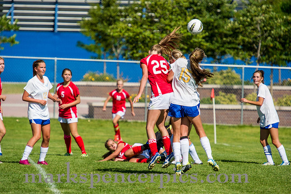 Soccer GSHS vs Orem 8-15-2013