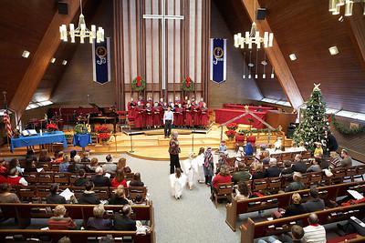 Mountain View UMC 12-18-2011 Mountain View SINGS!