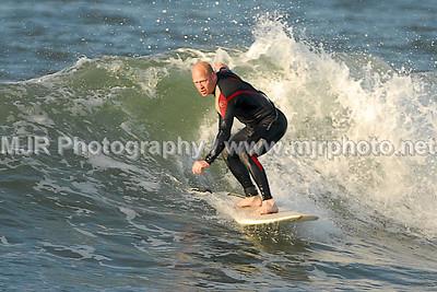 Surfing, Gilgo Beach, NY,  (6-16-07)