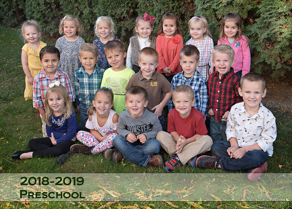 Homedale Preschool Fall 18