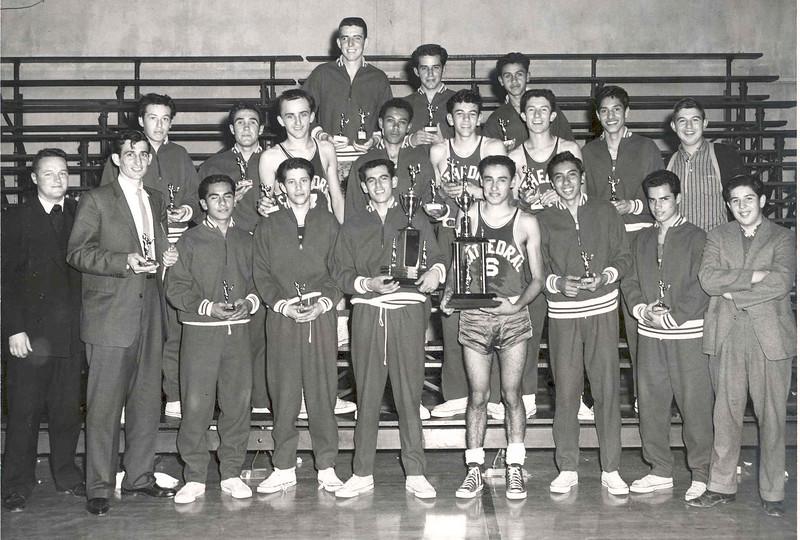 1958, Basketball Team