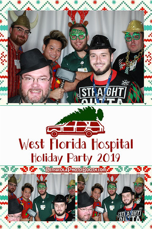 West Florida Hospital Holiday Party 12-17-19
