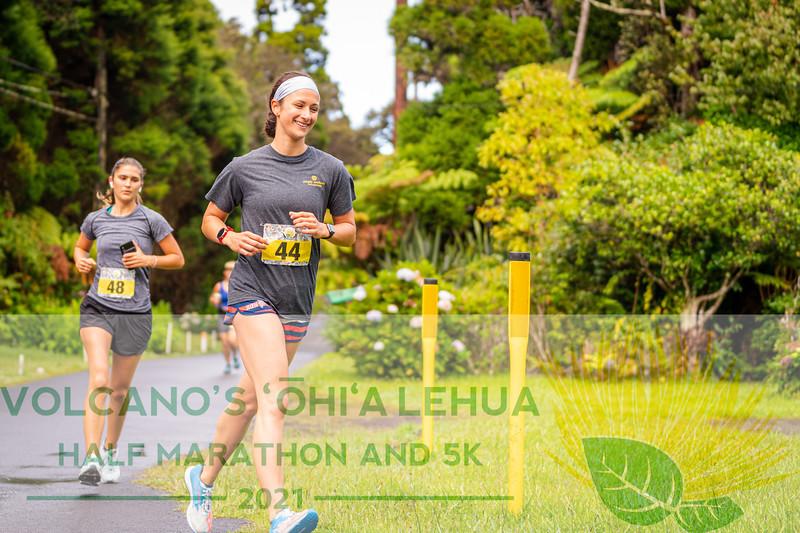 2021 Ohia Lehua Half Marathon & 5k Run