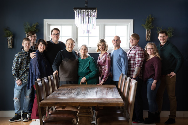 12.28.2019 Family Portraits