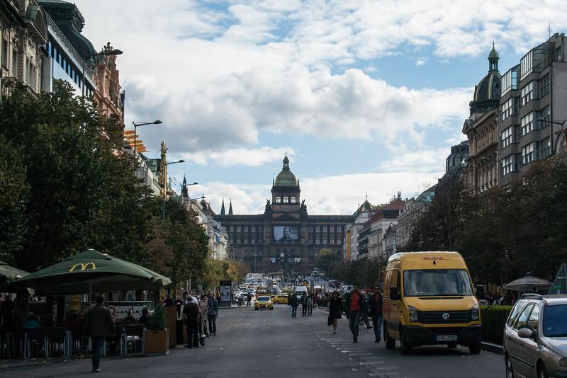 Wenceslas Square - shopping
