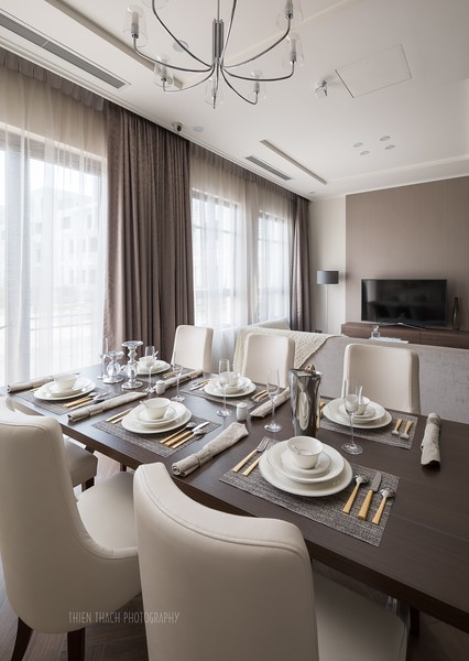 Model townhouse in The Manor Central Park Bitexco