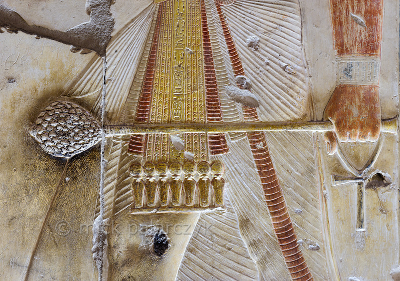 [Egypt 29931] 'Mace carried by Seti at Abydos'.