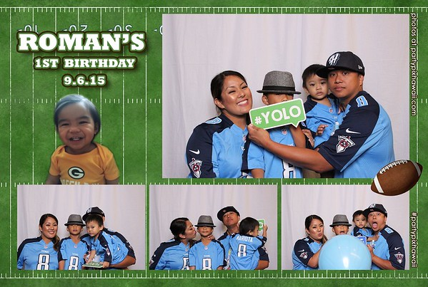 Roman's 1st Birthday (Mini Open Air Photo Booth)