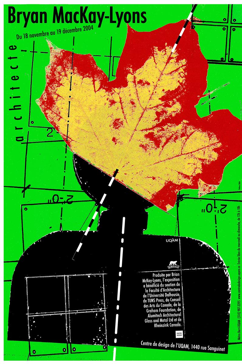 2004 - Exposition - Brian MacKay-Lyons architecte