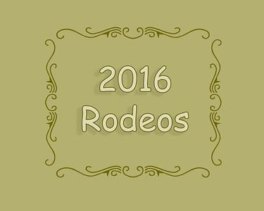 2016 Rodeos