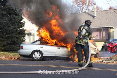 Car Fire - New Milford, NJ