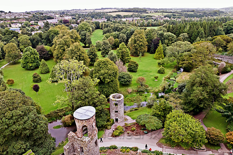 Blarney Castle's Towers and Grounds