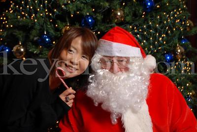 New Sanno Santa Holiday Photos - Nov ~ Dec 09