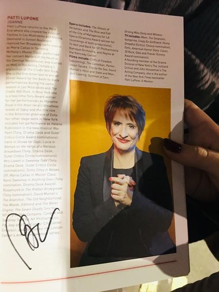 Patti LuPone_s autograph.JPG