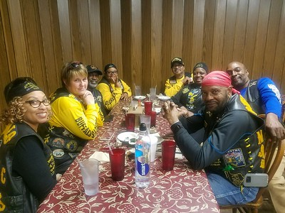 Little Rock and Texarkana Chapters breaking bread