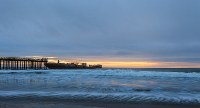 Aptos Sunset & Cement Ship