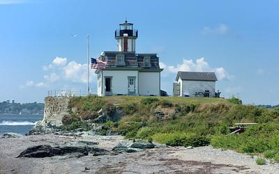 Fort Wetherill to Rose Island/Newport Harbor/Castle Hill Light - 8/15/2015