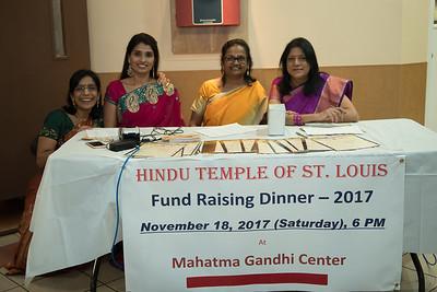 Temple Fundraising dinner -2017