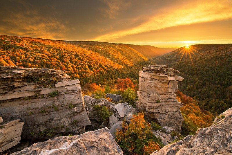Star of Show Lindy Point Sunset Blackwater Falls State Park.jpg