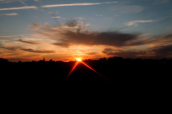 Manta Rota _ pôr do sol