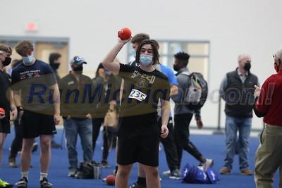 Boys' Shot Put - 2021 MITS State Meet