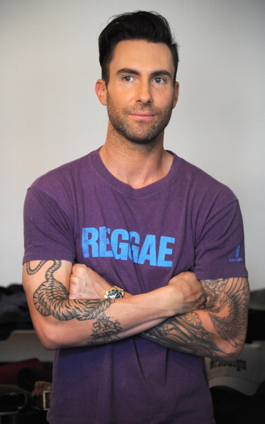 . NEW YORK, NY - SEPTEMBER 03:  (Exclusive Coverage) Adam Levine attends the Adam Levine fall press preview for Kmart collection on September 3, 2013 in New York City.  (Photo by Kevin Mazur/WireImage)