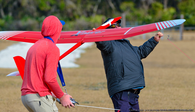 Brayden Chamberlain (pilot) - FSS (Florida Soaring Society) contest #1 2018, hosted by the Orlando Buzzards in Christmas, Florida