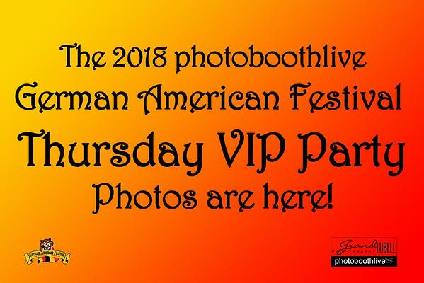 GAF Thursday VIP 082318