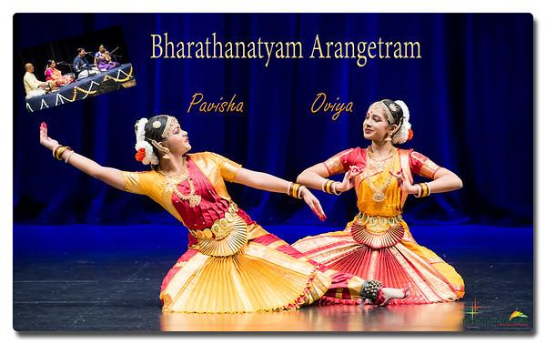 Oviya & Pavisha's Bharatanatyam Arangetram 2018 - Highlights