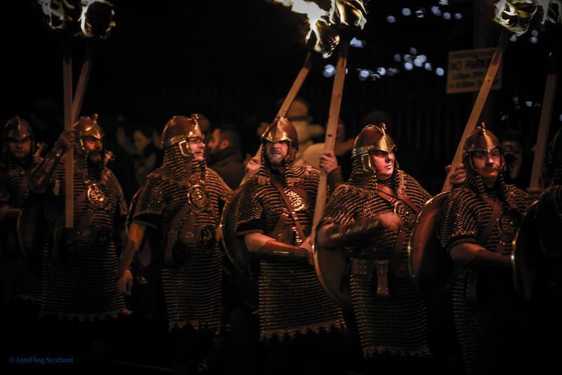 Edinburgh Torchlight Procession