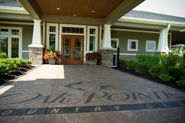 9.3.2011 Katie Jim Oak Pointe Country Club
