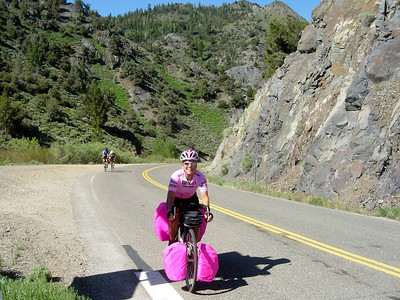 Cycling from Tahoe to Yosemite - June 2008