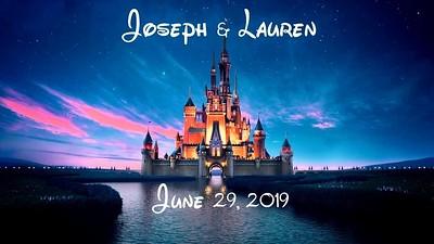 Joseph & Lauren's Wedding!