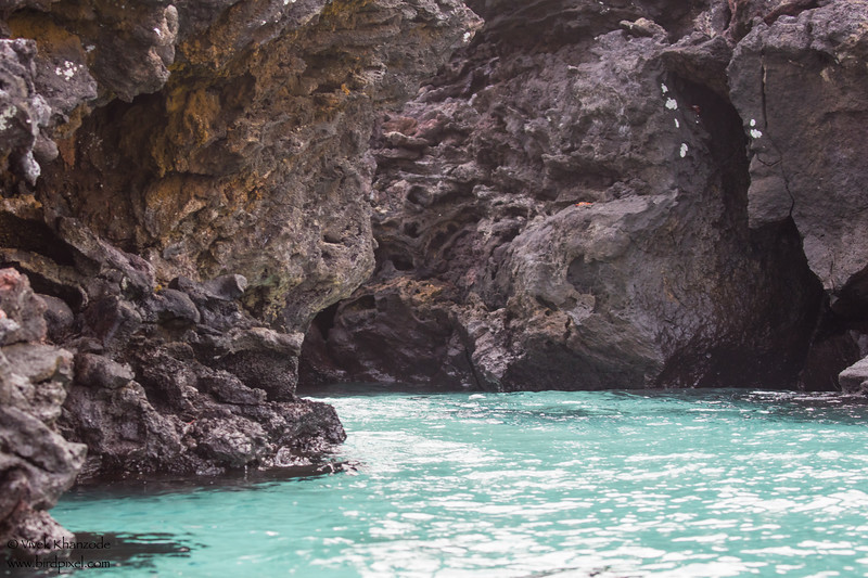 Lava Tube - Galapagos, Ecuador