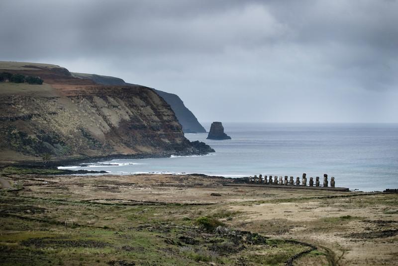 Ahu Tongariki Easter Island, Chile (Rapa Nui)