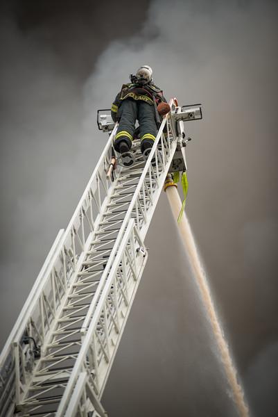 Fremont fire  September 30, 2014