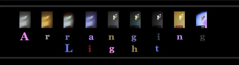 Title Banner Arranging Light