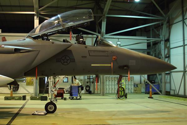 RAF Lakenheath Base Tour : 24th January 2013